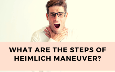 Heimlich maneuver – What are the steps and its success rate?